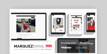 mailchimp newsletter examples for downloard