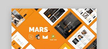 mailchimp newsletter templates - Mars