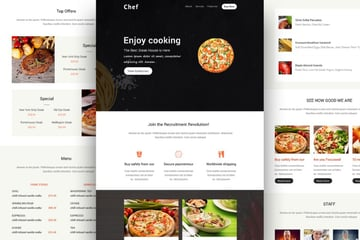 mailchimp templates - Chef on Envato Elements
