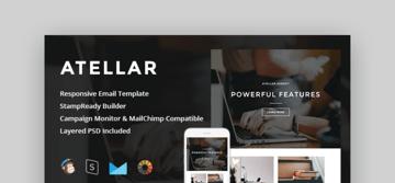 professional email templates - Atellar