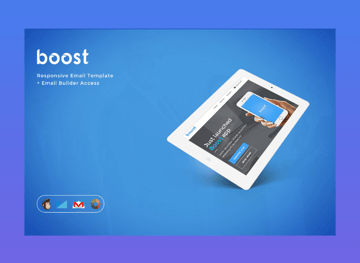Boost corporate email newsletter templates