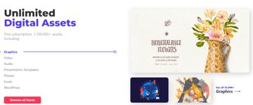 Get unlimited digital assets on Envato Elements