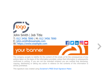 email signature templates free download