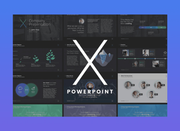 premium presentation templates - x-note