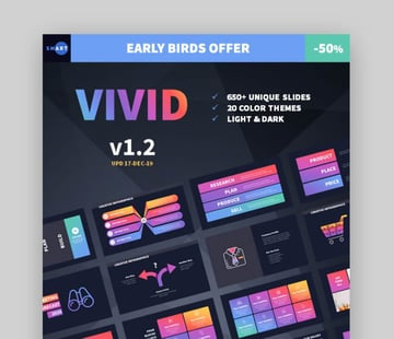 VIVID PowerPoint Presentation Template