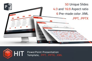 hit premium powerpoint template