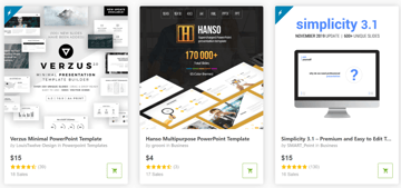 best business powerpoint templates on GraphicRiver