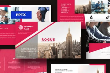 Rogue corporate powerpoint templates