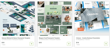 how to prepare a presentation with templates from GraphicRiver