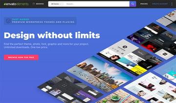 Envato Elements - Design Without Limits - cv templates