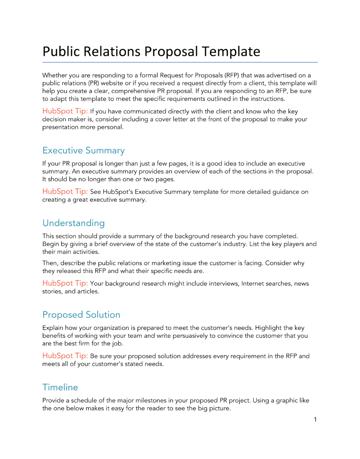 project proposal template google docs free