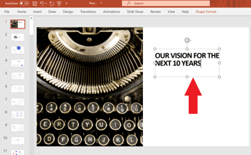How to Edit Your Slide Title and Subtitles in PowerPoint