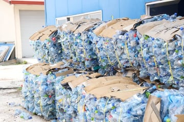 the office earth day - plastic recycling