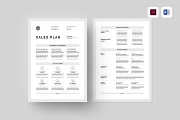 word marketing plan template sample