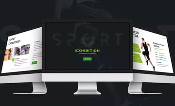 Exhibition Sports PowerPoint Template