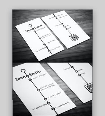 Simple Timeline Card