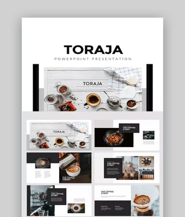 coffee-themed template
