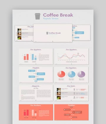 coffee break coffee template