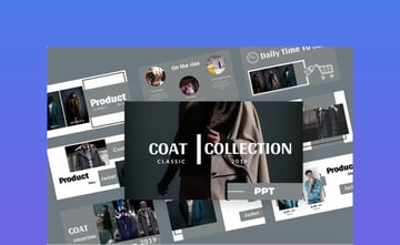 Coat Fashion Presentation