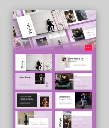 Stylie Fashion Template