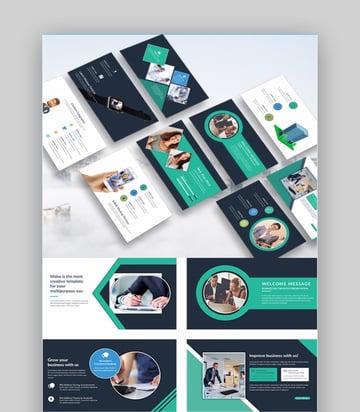 Mabu Change Control Presentation PowerPoint Template