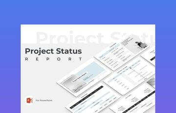 Project Status Report Change Control Presentation Template
