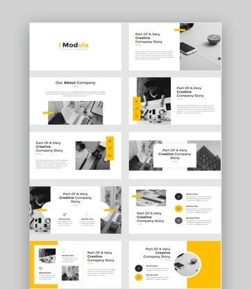 Modula - Creative Photography PowerPoint Template