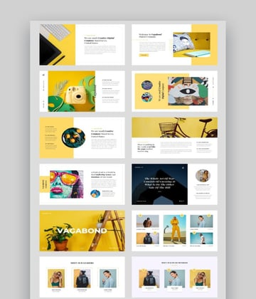 Vagabond - Creative Business Photo PPT Template