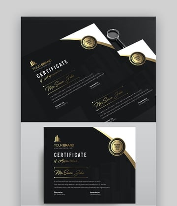 Clean and Professional Certificate