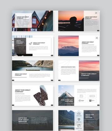 Hideung - Pitch Deck Google Slides Template