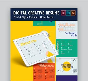 Digital Creative Resume