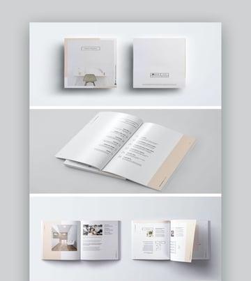 005 - plantilla de proyecto empresarial minimalista
