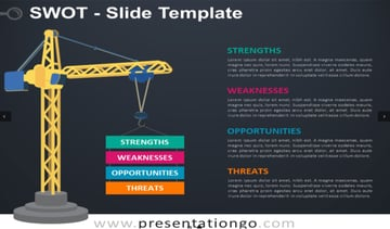 SWOT Analysis Slide for PowerPoint and Google Slides