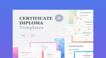 Certificate  Diploma PowerPoint Templates
