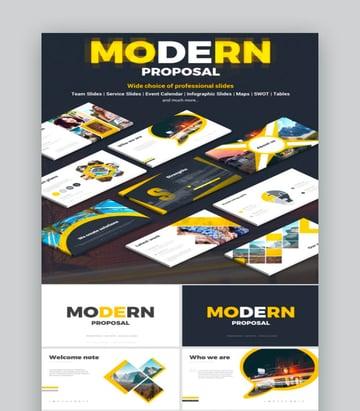 Modern Proposal Modern PPT