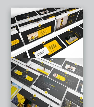 Atery Resume CV PowerPoint Template