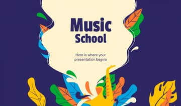 Music School Google Slides Theme