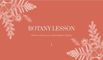 Botany Lesson Beautiful PPT