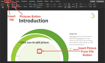 Plant PowerPoint Template Tutorial Step 5