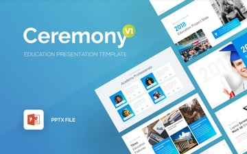 Ceremony CV PowerPoint Template