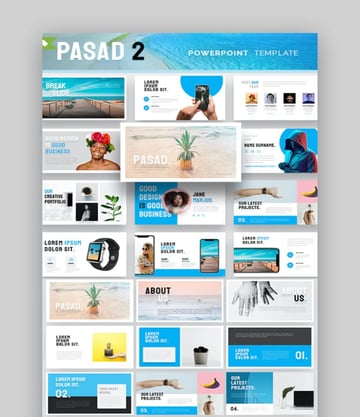 Pasad PowerPoint CV Templates