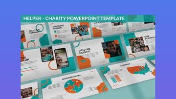 Helper Charity PowerPoint Template