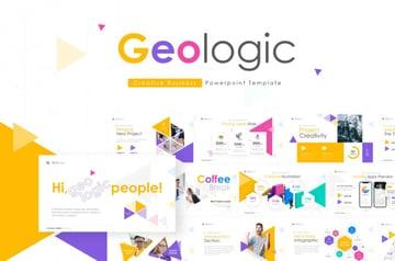 Geometric PowerPoint template