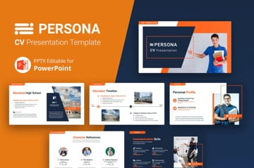 A sample reverse-chronological resume template that spotlights work experience. Download the newest PowerPoint resume templates on GraphicRiver.