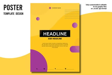 Make your annual report design colorful.