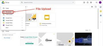 How to use a Microsoft Word template in Google Docs