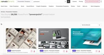 Envato Elements has hundreds of premium PowerPoint Templates.