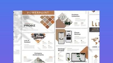 Probiz Business PowerPoint template