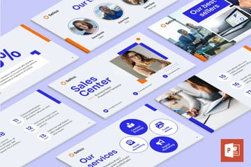 Business Sales PowerPoint Presentation template from Envato Elements.