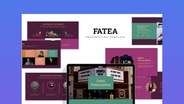 Fatea: Cinema and Theater Business PowerPoint